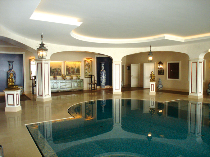 Family House Guest House Staff Houses Indoor Swimming